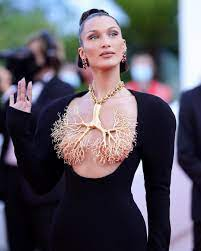 Topless Gown At Cannes Film Festival