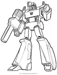 Disegno Transformersmegatron3 Categoria Cartoni Da Colorare
