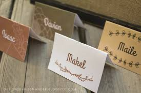 Fall Place Cards Editable Fall Place Cards Holiday Thanksgiving Fall