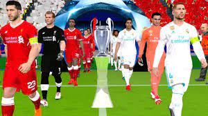UEFA Champions League 2018 Final - Liverpool vs Real Madrid Gameplay -  YouTube