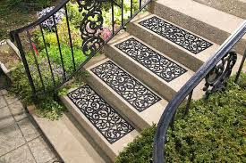 outdoor stair treads sets