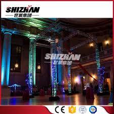 diy portable stage small stage lighting truss. China Light Weight Aluminium Truss Aluminum Circle Rotating Lighting - Truss, Diy Portable Stage Small