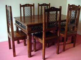 indian dining table 6 chairs. zoom indian dining table 6 chairs i