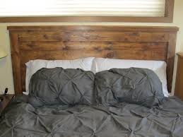 furniture brown wooden headboard connected by dark grey bedding set adorable design of double