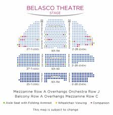 Moore Theater Seattle Seating Chart Belasco Theatre Broadway Direct