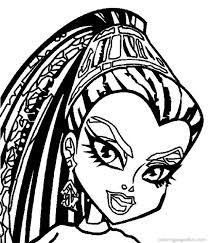 Free Printable Coloring Sheets Monster High 16 Monster High Coloring