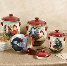 traditional rooster kitchen pot design ideas