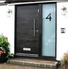 front door27 Chic Dark Front Doors To Try For Your Entry  Shelterness