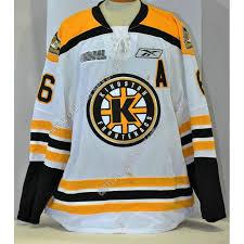 Customize Gudbranson Hockey Erik White Chl 6 Kingston Home Jerseys Frontenacs Ohl