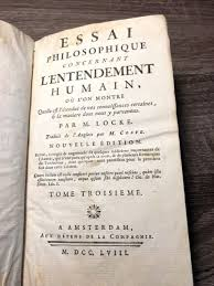 John Locke An Essay Concerning Human Understanding Volume I Only