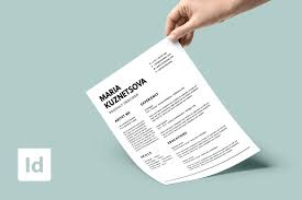 Modern Newsetter Resume Templates Resume Templates Best Free Updated Download Indesign Cover