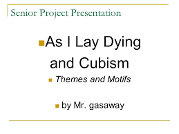 senior project presentation ppt 1 senior project presentation as i lay dying
