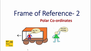 frame of reference part 2 polar coordinates iit jee physics cles you