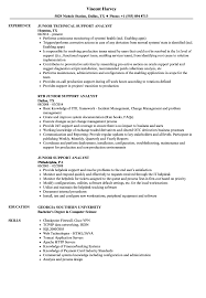 Web Analyst Resume Sample Junior Support Analyst Resume Samples Velvet Jobs 44