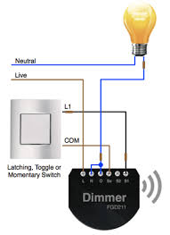 apnt 1 installing fibaro dimmer modules vesternet 2 wire lighting circuit fibaro dimmer installed
