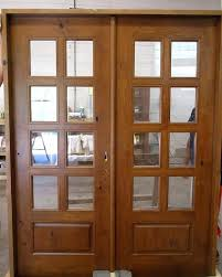 interior french doors rustic interior french doors 8 lite knotty alder interior door with frosted glass