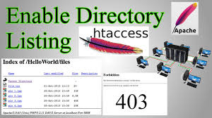 Web Server: Enable Directory Listing / Directory Browsing with ...