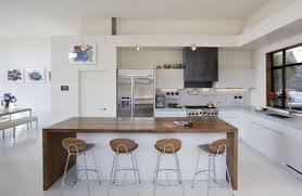 Modern Kitchen Living Room Kitchen Comely Small Apartment With Open Kitchenette Across