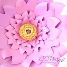 Paper Flower Designs Clara Style Paper Flower
