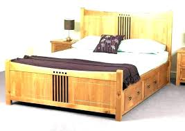 Full Size Wood Bed Full Size Wood Bed Frame With Drawers ...
