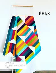 Modern Handcraft & Peak Quilt PDF Pattern Adamdwight.com