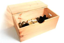 wooden box large flat top hinged lid how to make a with versatile storage throughout the