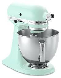 kitchenaid artisan stand mixer ice blue 5ksm150ps contemporary mixers