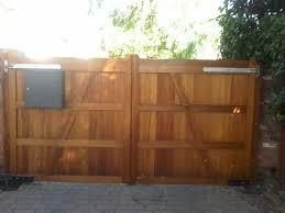 iroko gates timber gates hardwood gates
