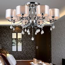 image of contemporary foyer lighting crystal chandeliers