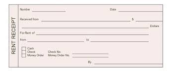 Discreetliasons Com Rent Receipt Templates Word Excel Formats Free