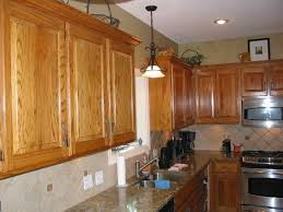 Oak Kitchen Refinishing Golden Oak Kitchen Cabinets