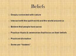 shamanistic beliefs definition