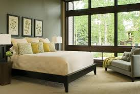 Paint Color For Bedroom Custom Bedroom Interior With Gray Painted Wall Color Combined With
