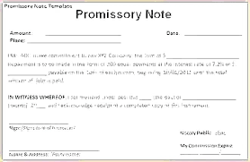 Promissory Note Templates Word Demand Promissory Note Template