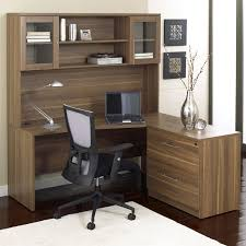 most seen images in the awesome design of office desks with hutch to decorate your office room gallery awesome glass corner office desk glass