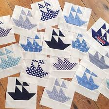 Best 25+ Nautical quilt ideas on Pinterest | Nautical baby quilt ... & MessyJesse: The Making of the Nautical Quilt - includes the link for the  pattern. Adamdwight.com