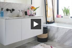 bathroom makeover contest.  Bathroom Refresh Your Bathroom With Clever DIY Ideas And Modern Touches Watch Our  Video To See How Hu0026Hu0027s Reiko Caron Livens Up A Neutral Using Stylish  To Bathroom Makeover Contest N