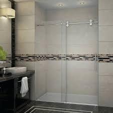bathtubs bathtub 28 x 60 langham 60 x 75 single sliding completely frameless shower door