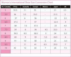 International Children S Shoe Size Chart Shoe Size Chart Mexico To Usa Www Bedowntowndaytona Com