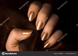 Lesklé Zlaté Nehty Stock Fotografie Gyurma 148863027