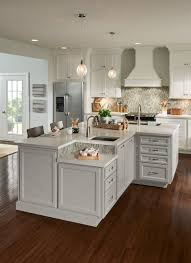 Interior Decoration Of Kitchen Modern Country Kitchen With Reclaimed Wood Island And Quartz