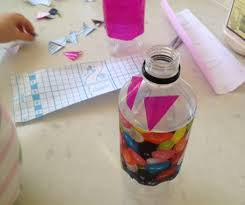 Decorated Plastic Bottles decorating plastic bottle with contact paper decorating plastic 12