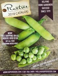 garden seed catalogs. The Pinetree Garden Seeds 2018 Seed Catalog Catalogs A