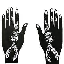 ручная татуировка наклейка индийская хна временная татуировка трафарет набор