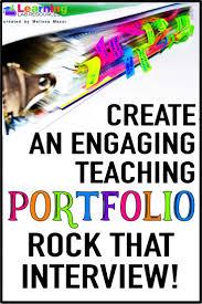 25 Best Teaching Portfolio Ideas On Pinterest Teacher Portfolio