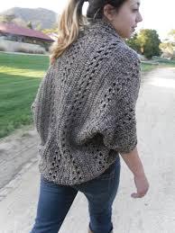 Easy Crochet Cardigan Pattern
