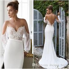 2015 julie vino sheath wedding dresses sexy sweetheart off the