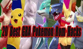 20 best gba pokemon rom hacks so far
