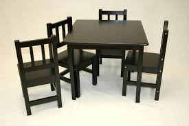 child wood table and chair set solid wood kids table and chairs modern with image of