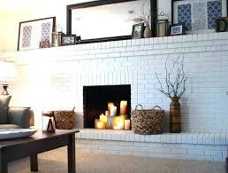 fabulous brick fireplace ideas decorating brick fireplace decor